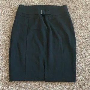 Express Skirts - Dark gray high waisted skirt